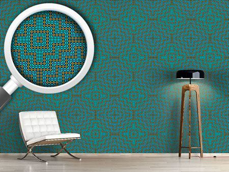 Pattern Wallpaper Moorish Distraction