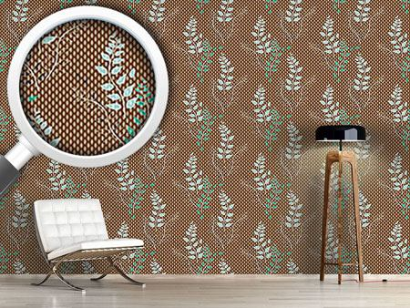Pattern Wallpaper Nystad Blum
