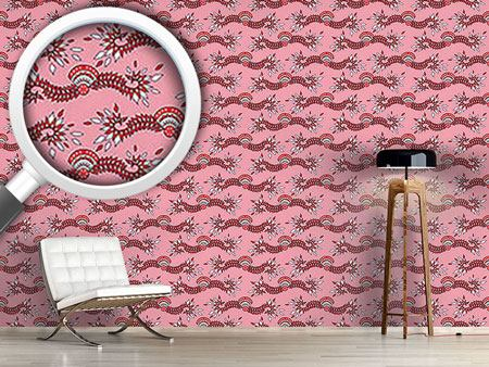 Pattern Wallpaper Cavallo Pink
