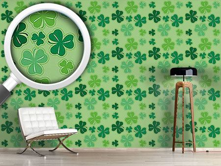 Pattern Wallpaper Clover