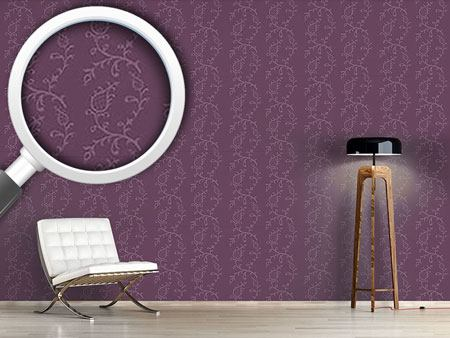 Pattern Wallpaper Cinderella Aubergina