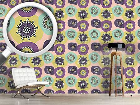 Pattern Wallpaper Lila Lola