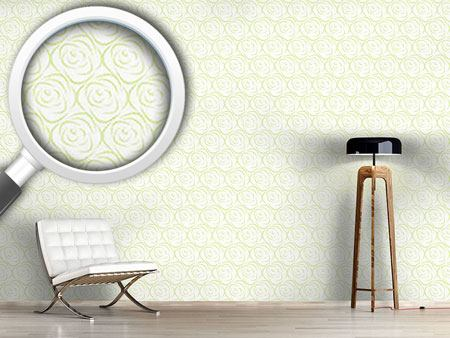 Pattern Wallpaper Rosabella Green