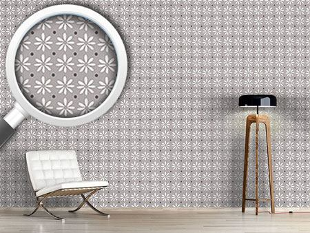 Pattern Wallpaper Miss Daisy