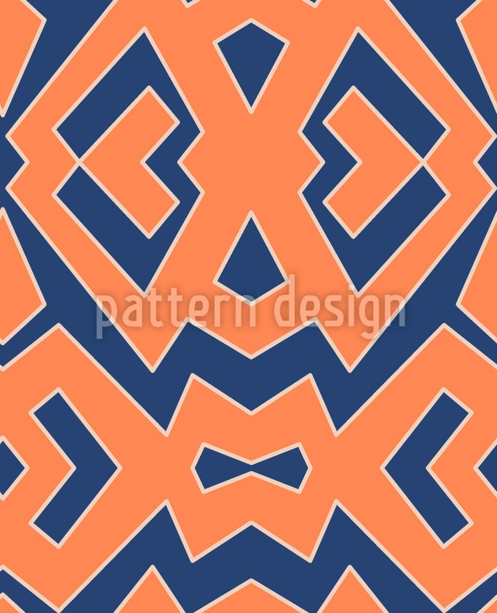 Pattern Wallpaper Afroblu