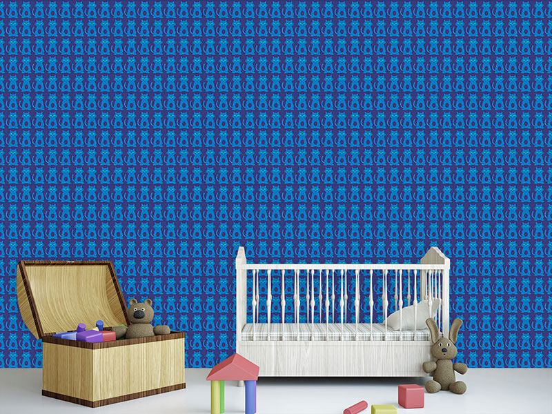 Pattern Wallpaper Kitten