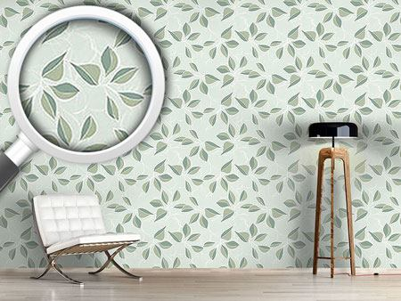 Pattern Wallpaper Pastel Green