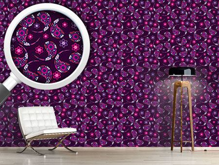 Pattern Wallpaper Indian Paisley Dream