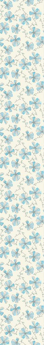 Pattern Wallpaper Enchanting Violets