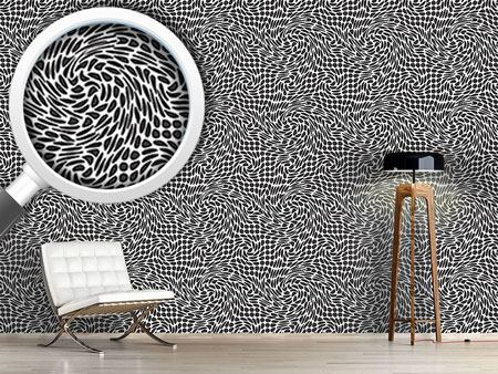 Pattern Wallpaper Vortex Dots
