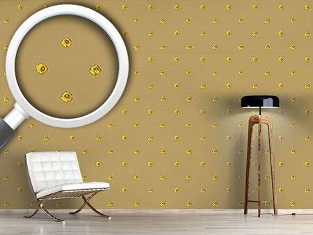 Pattern Wallpaper Persian Buttercup Dots