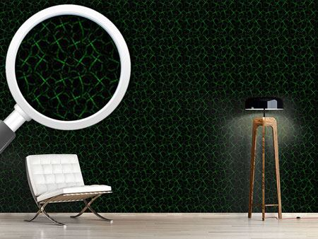 Pattern Wallpaper Shamrock Silhouettes