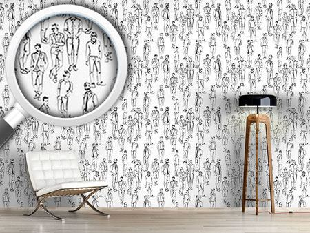 Pattern Wallpaper Men