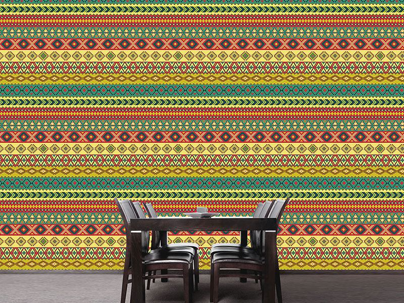 Pattern Wallpaper Mexican Border
