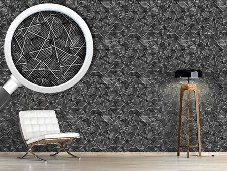 Pattern Wallpaper Reticular Circles