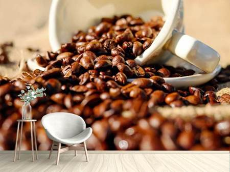 Photo Wallpaper Roasted coffee beans