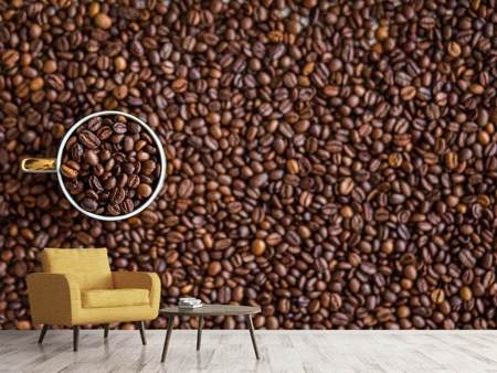 Photo Wallpaper All coffee beans
