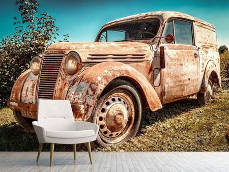 Fototapet Oldtimer with rust