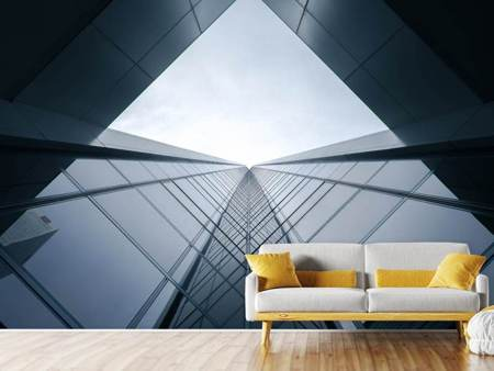 Photo Wallpaper Glass architecture