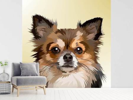 Fototapet Pop Art Dog Portrait
