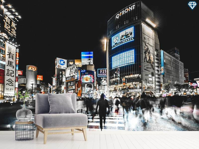 Photo Wallpaper Shibuya Crossing