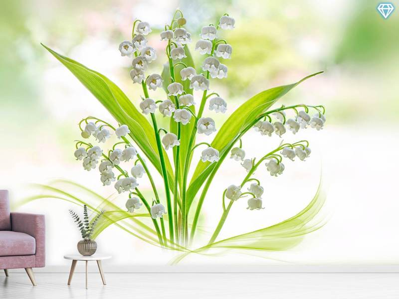 Photo Wallpaper Lily Of The Valley II