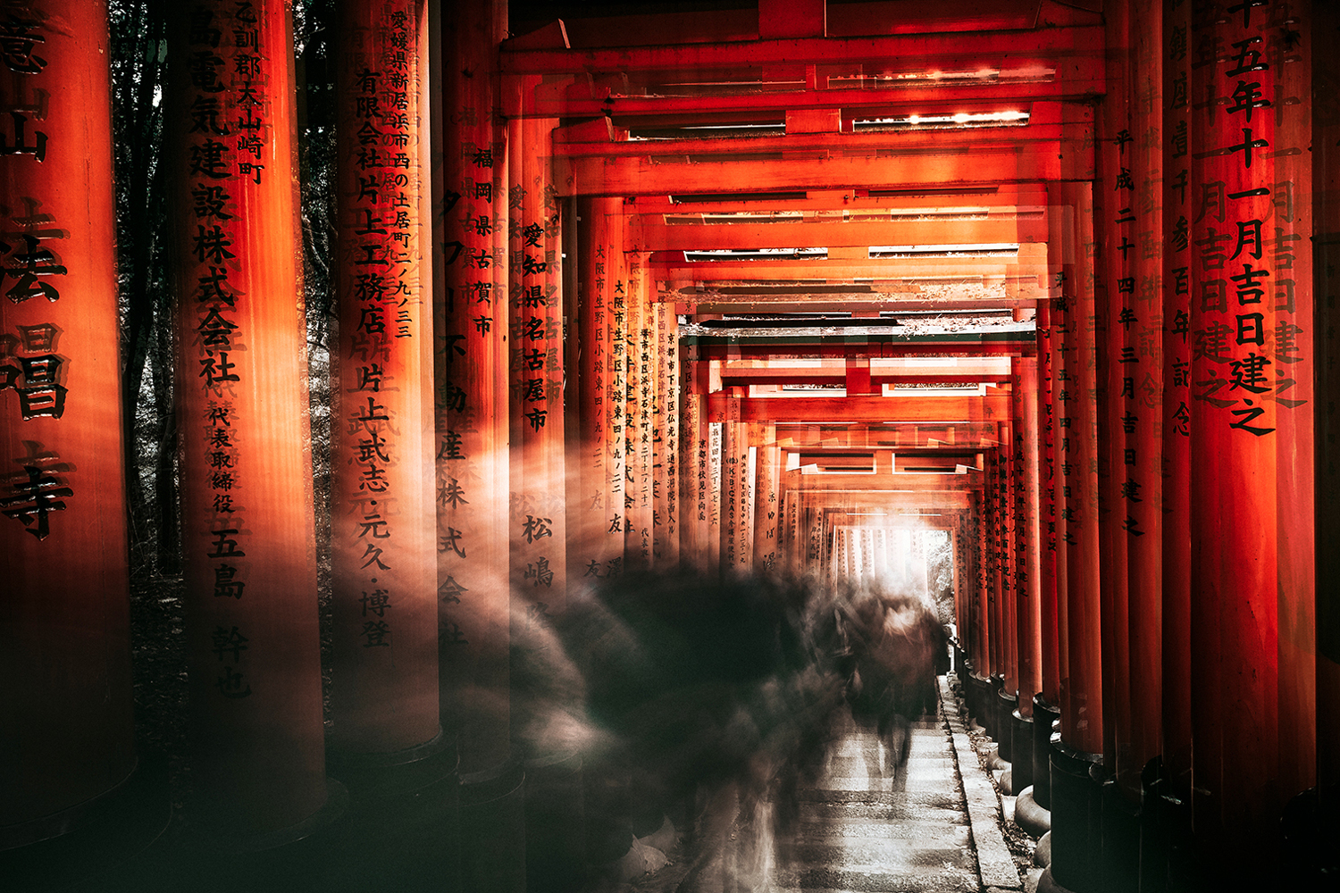 Fototapet Fushimi Inari Shrine