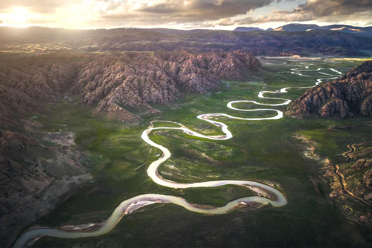 Photo Wallpaper Eighteen Bends Of Waterway