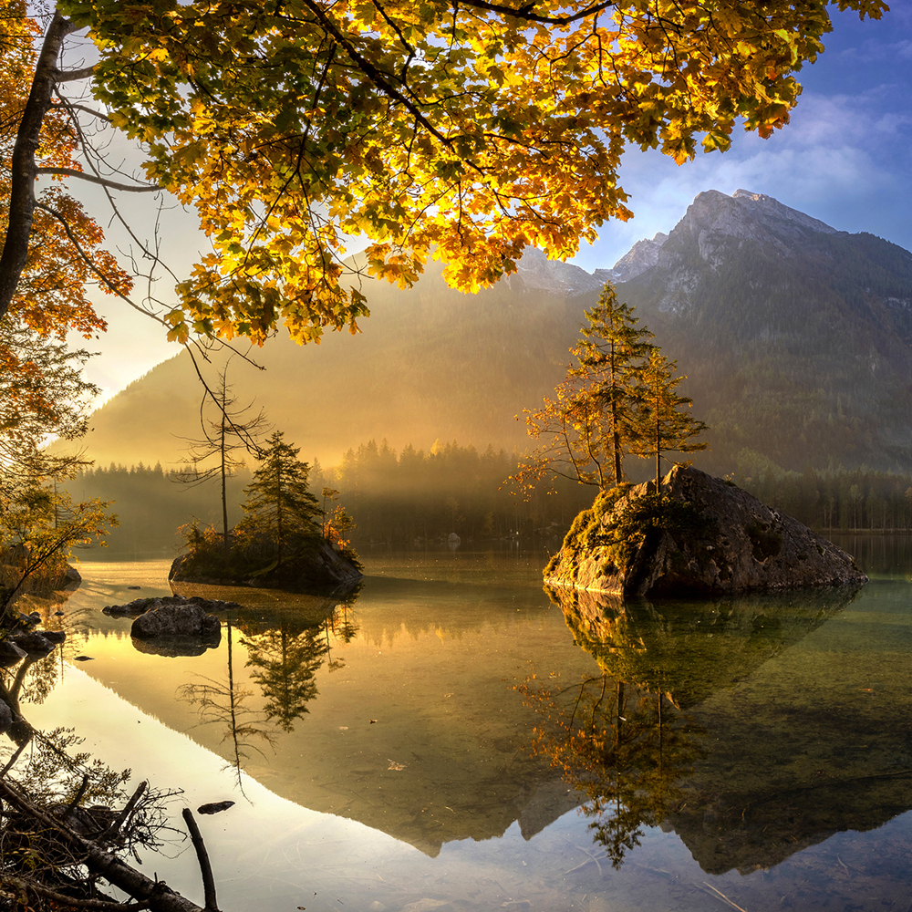 Photo Wallpaper Lake Hintersee