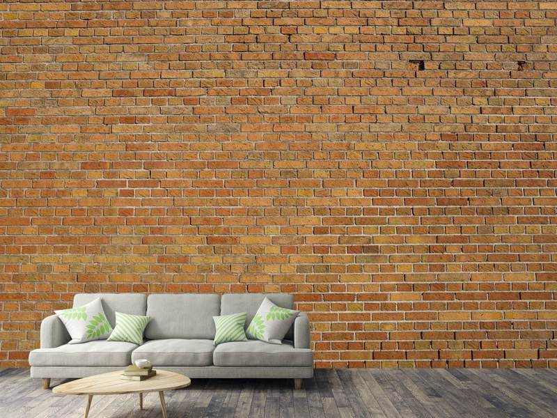 Photo Wallpaper Brick Background