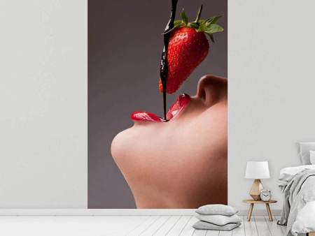 Fototapet Strawberry Kiss
