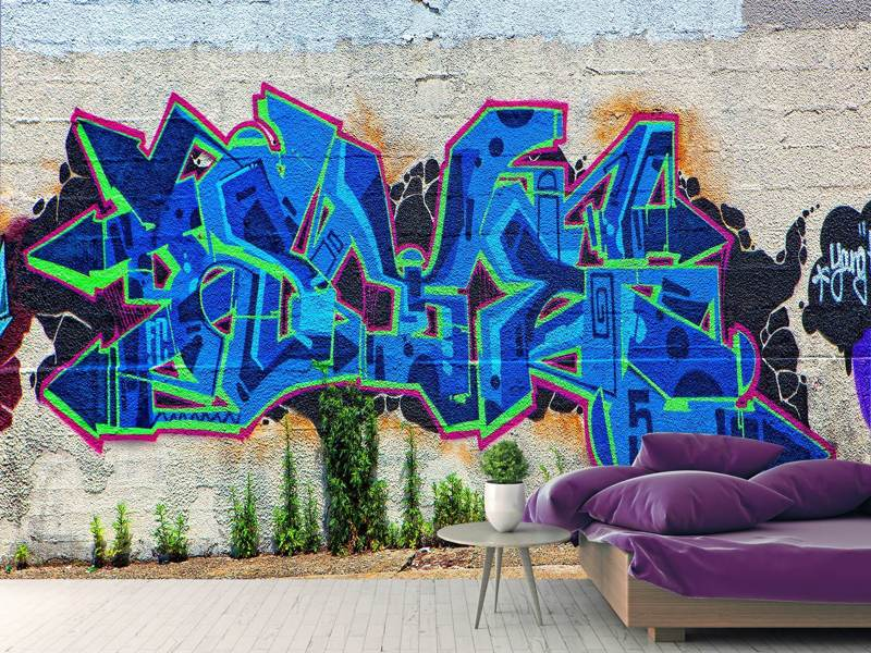 Photo Wallpaper Graffiti NYC