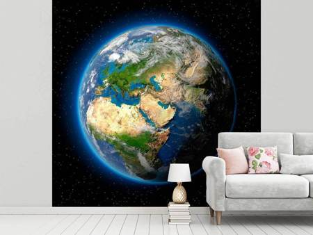 Photo Wallpaper The Earth As A Planet