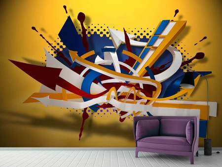 Photo Wallpaper Graffiti Art