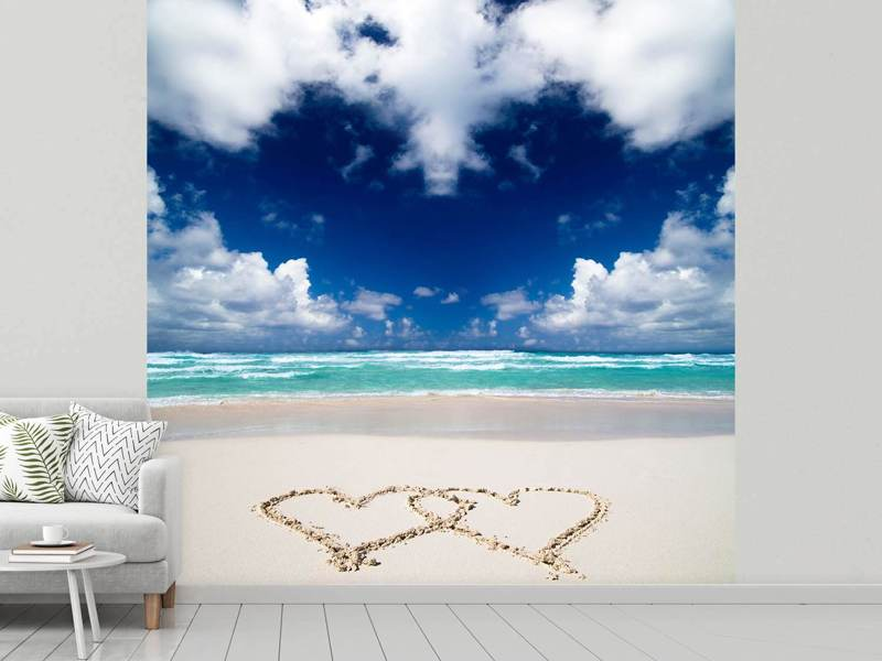 Photo Wallpaper Beach Love