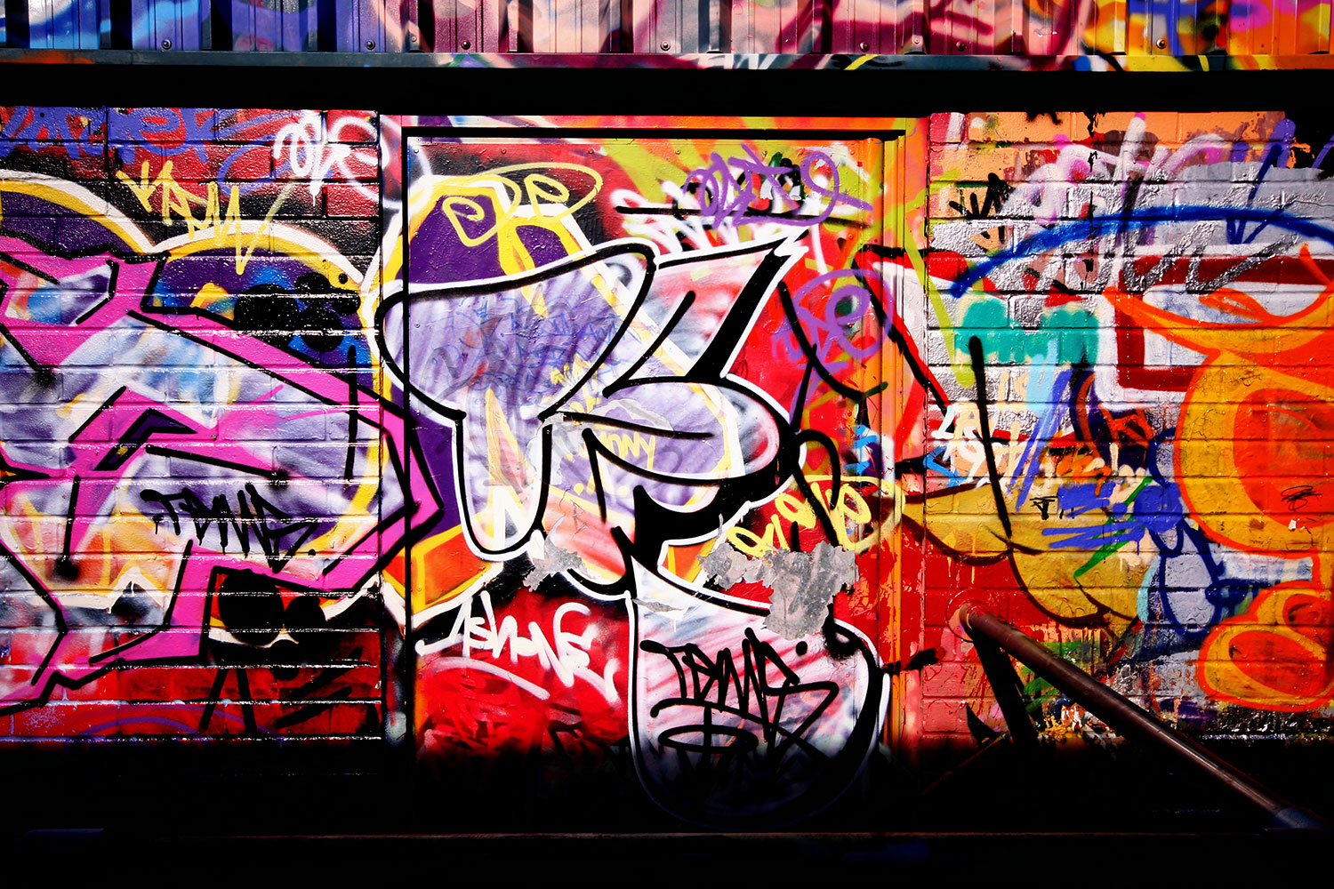 Fototapet Graffiti Wall Art