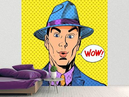 Photo Wallpaper Pop Art Wow